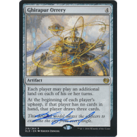 Ghirapur Orrery Signed by Kirsten Zirngibl Thumb Nail