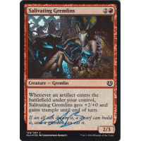 Salivating Gremlins FOIL Signed by Christopher Burdett Thumb Nail