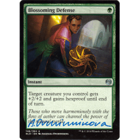 Blossoming Defense Signed by Anastasia Ovchinnikova Thumb Nail