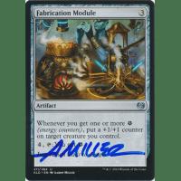 Fabrication Module Signed by Aaron Miller (Kaladesh) Thumb Nail