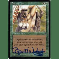 Barbary Apes Signed by Bryon Wackwitz Thumb Nail