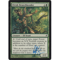 Elvish Branchbender Signed by Ralph Horsley Thumb Nail