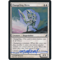 Changeling Hero Signed by Jeff Miracola (Lorwyn) Thumb Nail