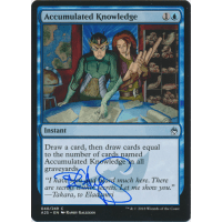 Accumulated Knowledge Signed by Randy Gallegos (Masters 25) Thumb Nail