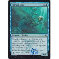 Fathom Seer FOIL Signed by Ralph Horsley Thumb Nail