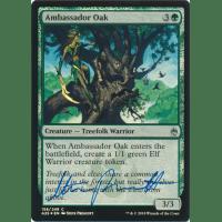 Ambassador Oak FOIL Signed by Steve Prescott Thumb Nail