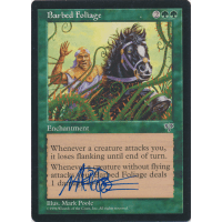 Barbed Foliage Signed by Mark Poole Thumb Nail