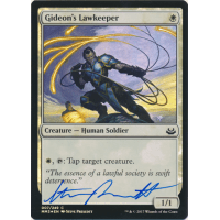 Gideon's Lawkeeper FOIL Signed by Steve Prescott Thumb Nail