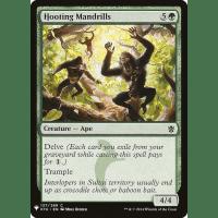 Hooting Mandrills Thumb Nail
