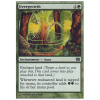 * Overgrowth 2018 Edition MTG COMMANDER