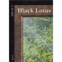 Black Lotus - Ultra Pro Puzzle - One of 9 Thumb Nail