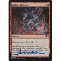 Rubble Reading FOIL Signed by Aaron Miller Thumb Nail