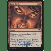 Burn Bright FOIL Signed by Scott Murphy Thumb Nail