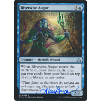 Riverwise Augur Signed by Alayna Danner (Rivals of Ixalan) Thumb Nail