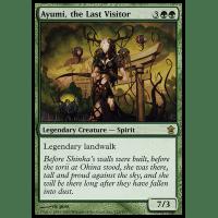 Ayumi, the Last Visitor Thumb Nail