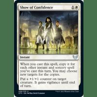 Show of Confidence Thumb Nail