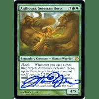 Anthousa, Setessan Hero FOIL Signed by Howard Lyon Thumb Nail