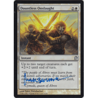 Dauntless Onslaught FOIL Signed by Peter Mohrbacher Thumb Nail