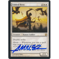 Fabled Hero Signed by Aaron Miller (Theros) Thumb Nail