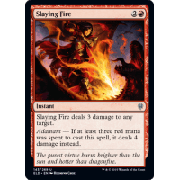 Throne of Eldraine 4 Slaying Fire