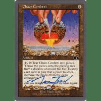 Chaos Confetti signed by Mark Tedin Thumb Nail