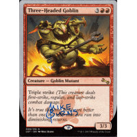 Three-Headed Goblin Signed by Mike Burns Thumb Nail