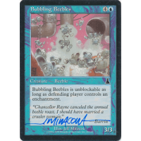 Bubbling Beebles Signed by Jeff Miracola (Urza's Destiny) Thumb Nail