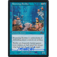 Bouncing Beebles Signed by Jeff Miracola (Urza's Legacy) Thumb Nail