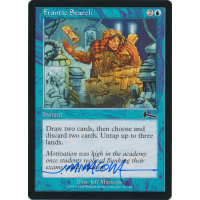Frantic Search Signed by Jeff Miracola (Urza's Legacy) Thumb Nail