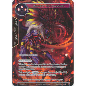 Bahamut, the Dragonoid (Full Art)