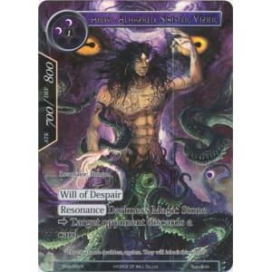 Abdul Alhazred, Sinister Vizier (Full Art)
