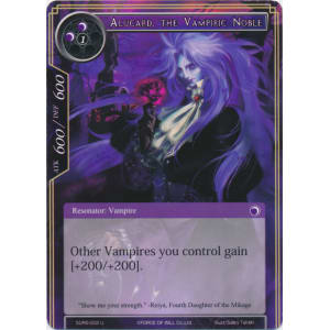 Alucard, the Vampiric Noble