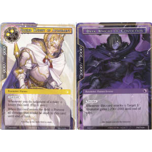 Sacred Knight of Atonement / Dark Knight of Conviction