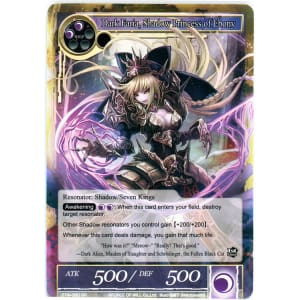 Dark Faria, Shadow Princess of Ebony