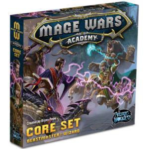 Mage Wars Academy: Beastmaster vs Wizard Core Set