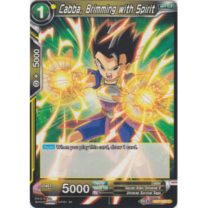Cabba, Brimming with Spirit