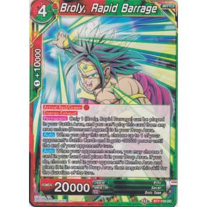 Broly, Rapid Barrage