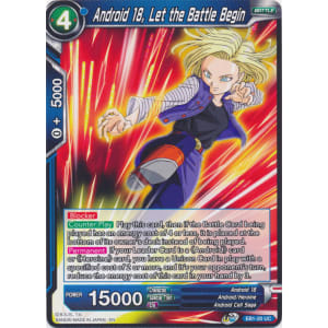 Android 18, Let the Battle Begin