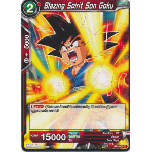 Blazing Spirit Son Goku