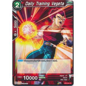 Daily Training Vegeta