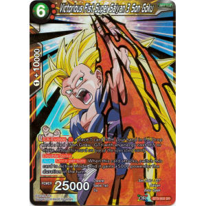 Victorious Fist Super Saiyan 3 Son Goku