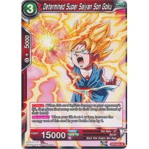 Determined Super Saiyan Son Goku