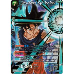 Ultra Instinct -Sign- Son Goku