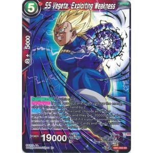 SS Vegeta, Exploiting Weakness (Alternate Art)