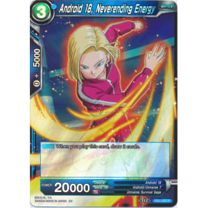 Android 18, Neverending Energy