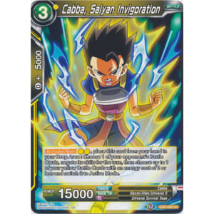 Cabba, Saiyan Invigoration