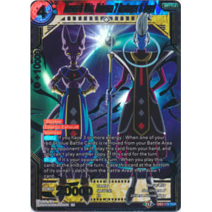 Beerus & Whis Universe 7 Destroyer & Angel