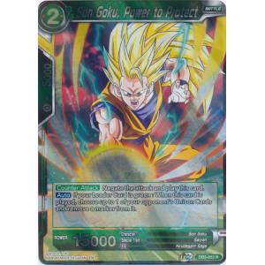 Son Goku, Power to Protect