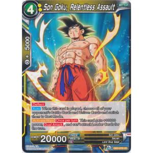 Son Goku, Relentless Assault