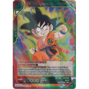 Son Goku, Unwavering Conviction